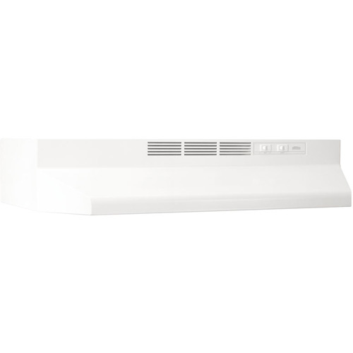 "36"" Non-Ducted Range Hood 2 Speed Rocker, Light, 160 cfm"