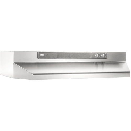 "30"" Convertible Range Hood, Variable Speed Light, 180 CFM"