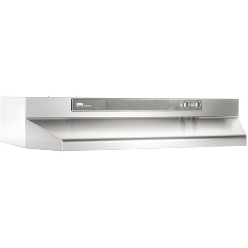 "36"" Convertible Range Hood, Variable Speed Light, 180 CFM"