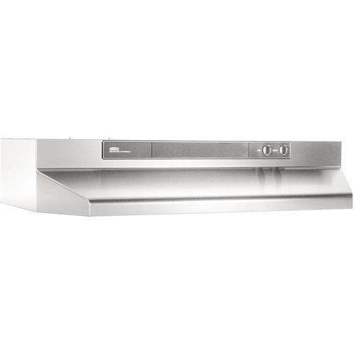 "42"" Convertible Range Hood, Variable Speed Light, 180 CFM"
