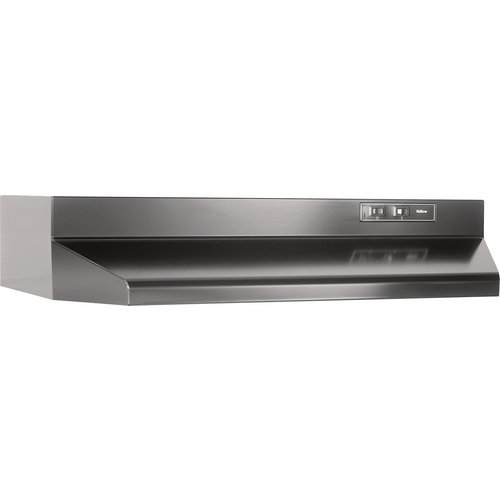 "36"" Black Range Hood 4 Way 2 Speed 160 CFM - Black"