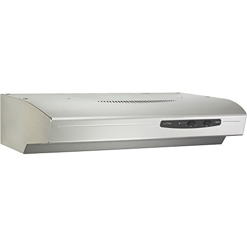 "220 CFM 42"" Variable Speed Convertible Undercabinet Range Hood with Light, Stainless Steel"