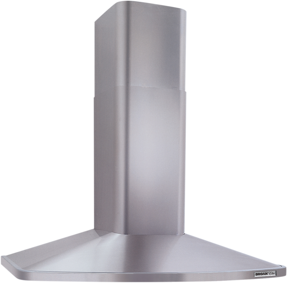 "370 CFM 30"" 3-Speed Chimney Hood with Internal Blower, Stainless Steel"