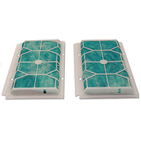 2-PACK of Replacement Charcoal Filters for AP1 and RP1 Range Hoods