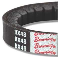 BROWNING V BELT, BX72, 21/32 X 75 IN.