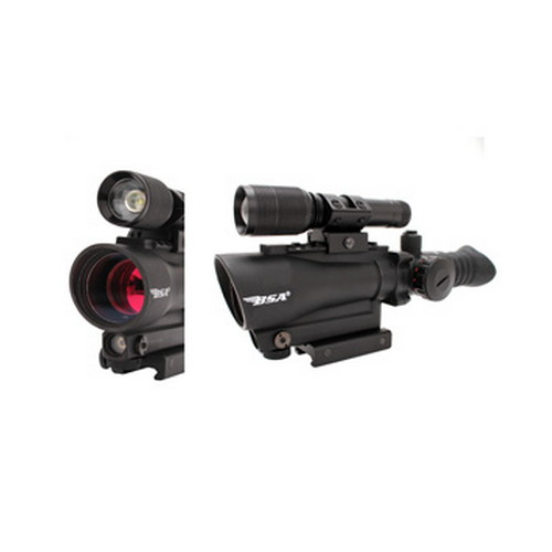 30mm Red Dot/Red Laser/140 Lumen Light