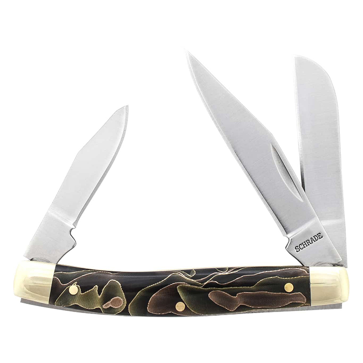 Old Timer 3-5/16-Inch 3-Blade Folding Pocket Knife