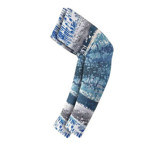 Buff UV Arm Sleeves, L/XL, Aqua Glitch