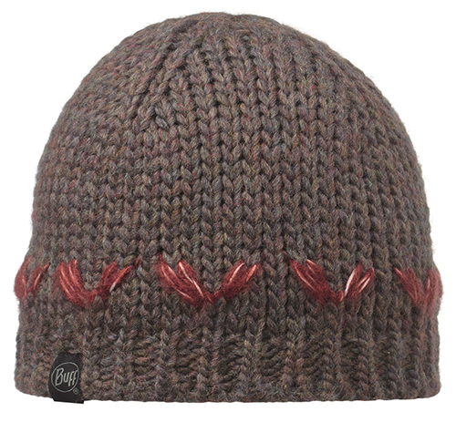 Buff Knitted Hat Lile, Brown