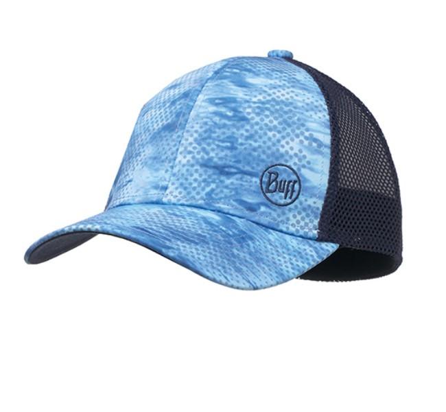 Buff 10-4 Snapback Cap, Pelagic Camo Blue