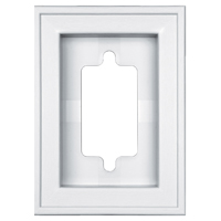 Builders Edge 130030002001 Recessed Mini Mounting Block