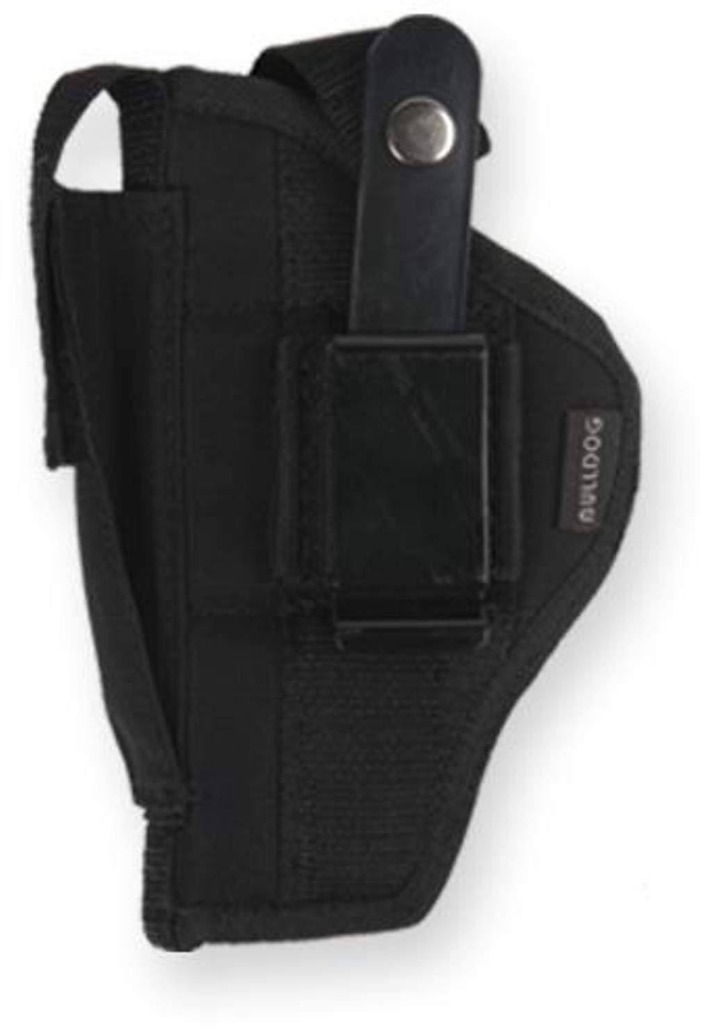 Bulldog Belt and clip ambi holster w/clam shell packaging