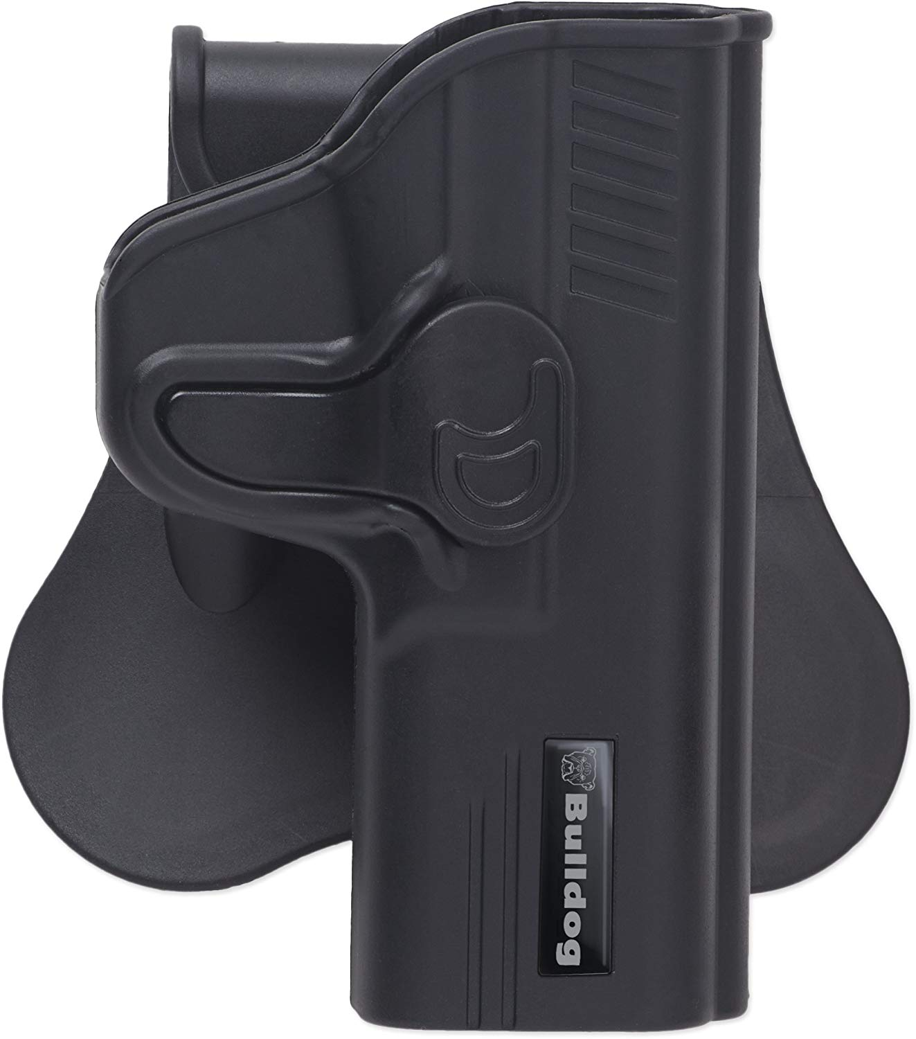 Bulldog Rapid Release Polymer holster with paddle right hand only
