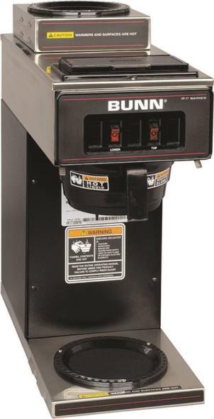 Bunn 13300.0012 Drip Coffee Maker, 120 V, 13.3 A, 1600 W, 3.9 gph, Stainless Steel