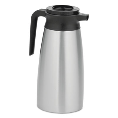 1.9 Liter Thermal Pitcher, Stainless Steel/Black