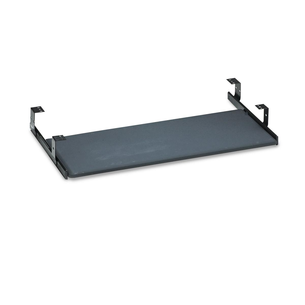 Universal Keyboard Shelf Accessory, 30 1/8w x 16 5/8d x 4h, Black