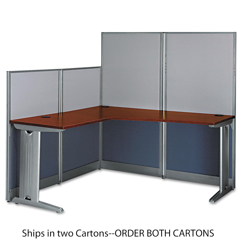L-Workstation (Box 2 of 2) Office-in-an-Hour, Hansen Cherry
