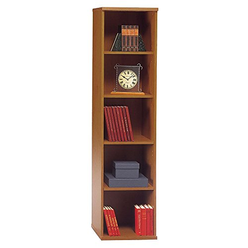 Series C Collection 18W 5 Shelf Bookcase, Natural Cherry