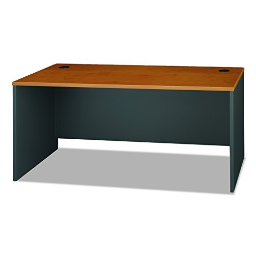 Series C Collection 66W Desk Shell, Natural Cherry