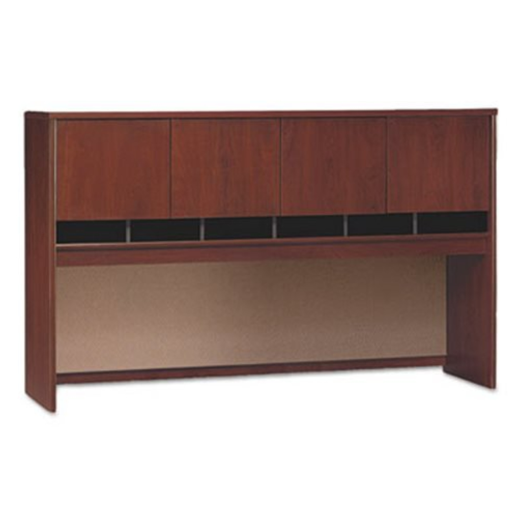 Series C Collection 72W Four-Door Hutch, Box 1 of 2, Hansen Cherry