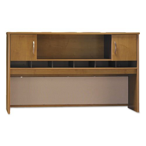 Series C Collection 72W Two-Door Hutch, Box 1 of 2, Natural Cherry