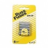 BP/SFE-20-RP CARDED GLASS FUSE