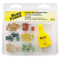 Bussmann NO.43 Automotive Fuse Kit, 43 Pieces
