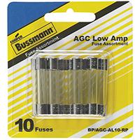 Bussmann BP/AGC-AL10-RP Automotive Fuse Assortments, Agc - Low Amp