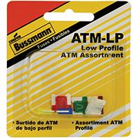 Bussmann BP/ATM-A6LP-RP Automotive Fuse Assortments, Blade - Atm