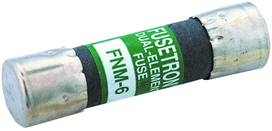 Cooper Bussmann Fusetron FNM Non-Indicating Time Delay Supplemental Fuse, 250 VAC, 15 A