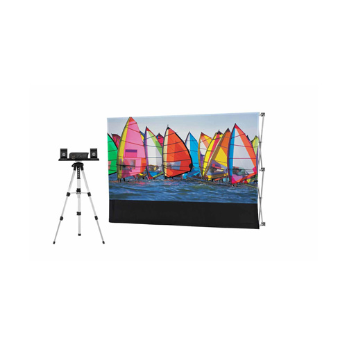 Backyard Theater Systems 9' Silverscreen Series w/Savi 720p Projector