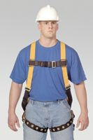 Miller+ Titan+ Full Body Harness With Tongue Buckle Leg Straps And Sliding Back D-Ring