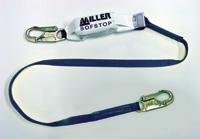 Miller+ 6' Single Leg Lanyard With SofStop+ Shock Absorber