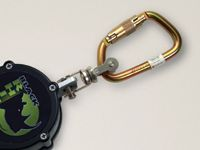 Miller+ Black Rhino Cable Self-Retracting Lifeline With Steel Twist-Lock Carabiner And Stainless Steel Swivel