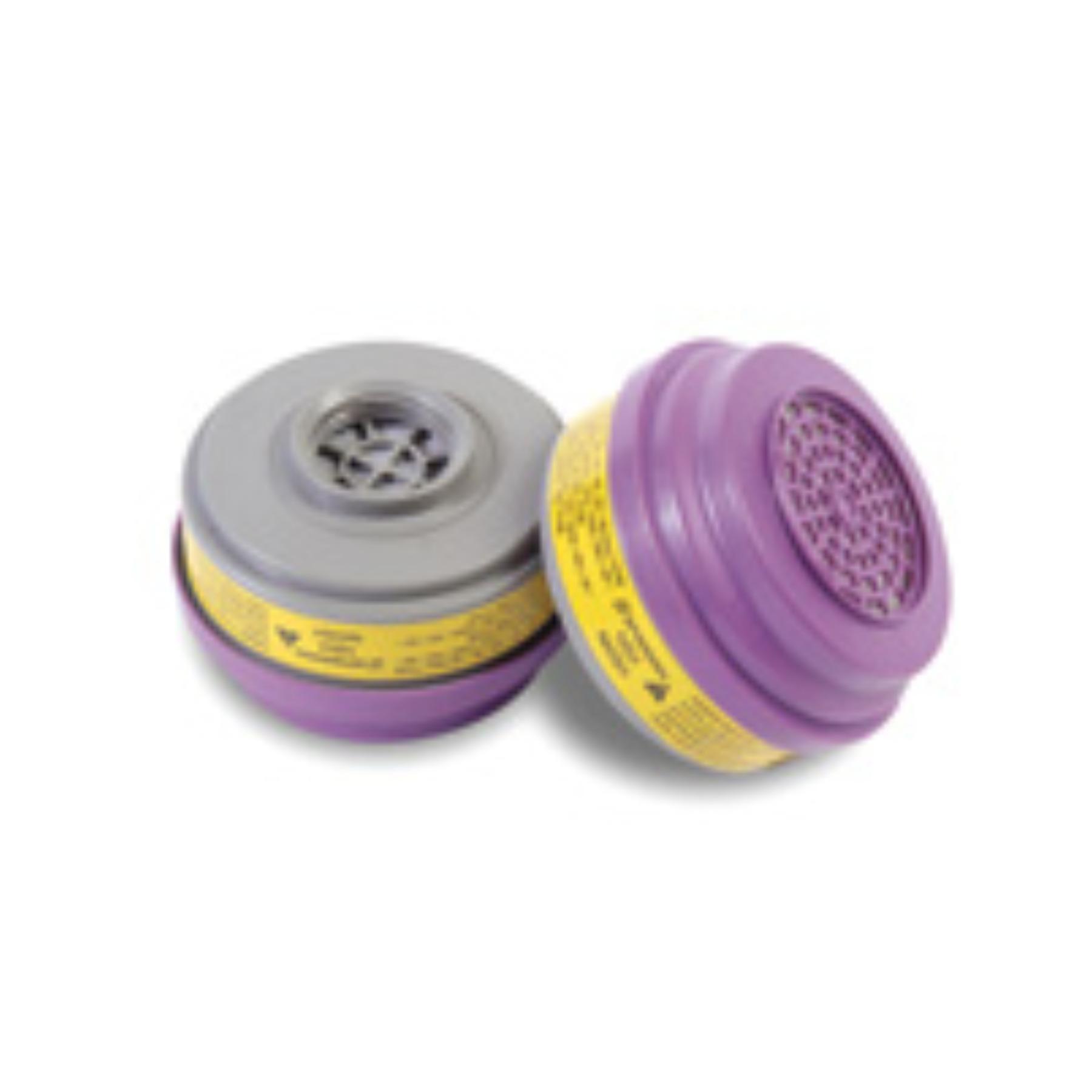 Survivair+ Organic Vapor/Acid Gas Cartridge For S Series Air Purifying Respirator (APR) With P100 Filter