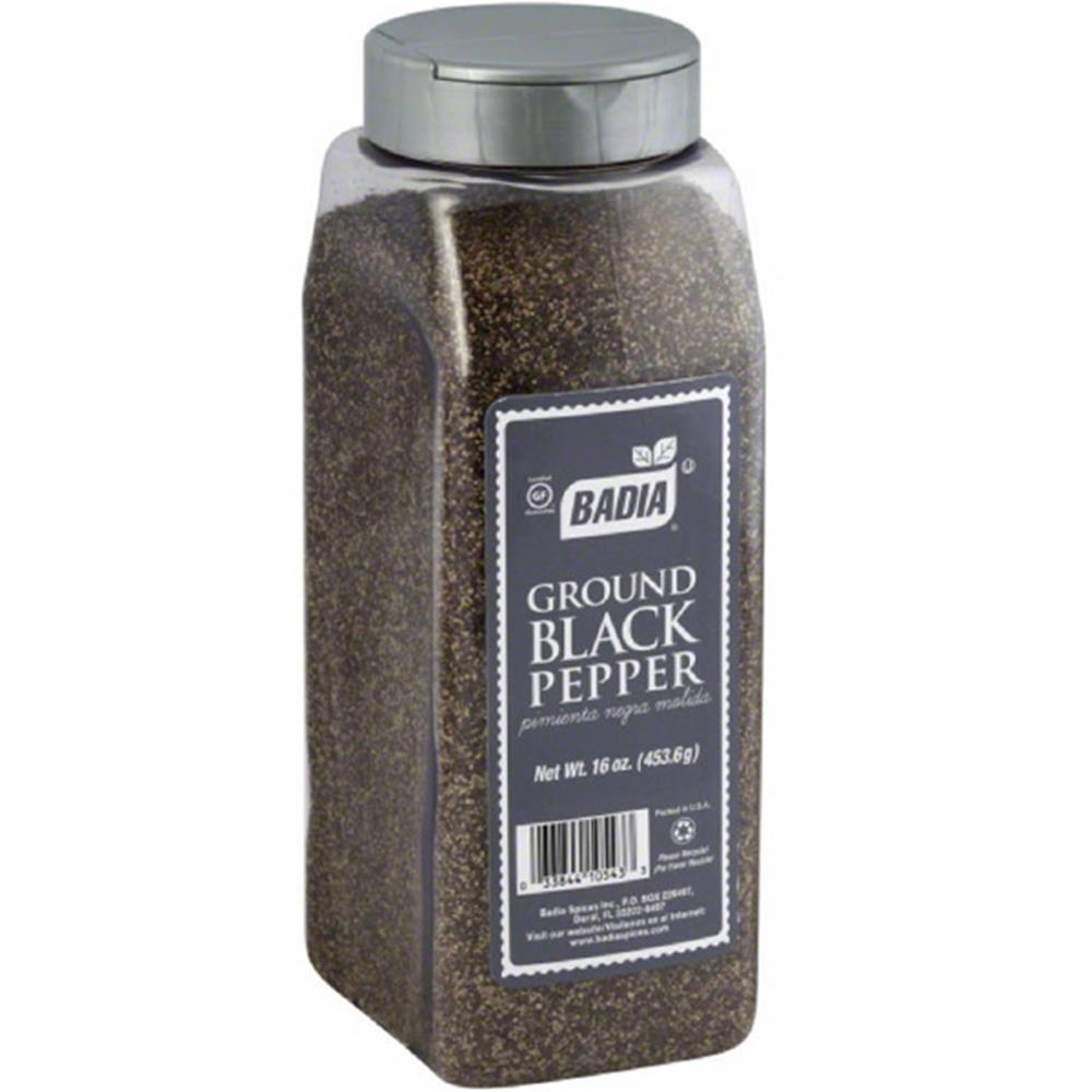 Badia Spices - Ground Black Pepper Spice ( 6 - 16 OZ)
