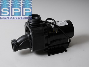 "Bath Pump, Balboa Gemini Plus II, 1.5HP, 115V, 12.5A, 1-1/2""MBT w/Air Switch & NEMA Cord"