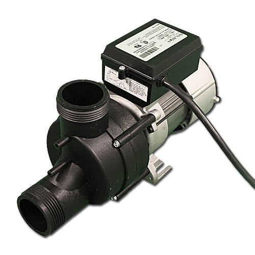 "Bath Pump, Vico Wow, Front/Top, .5HP, 115V, 1-1/2""MBT w/Air Switch & NEMA Cord"