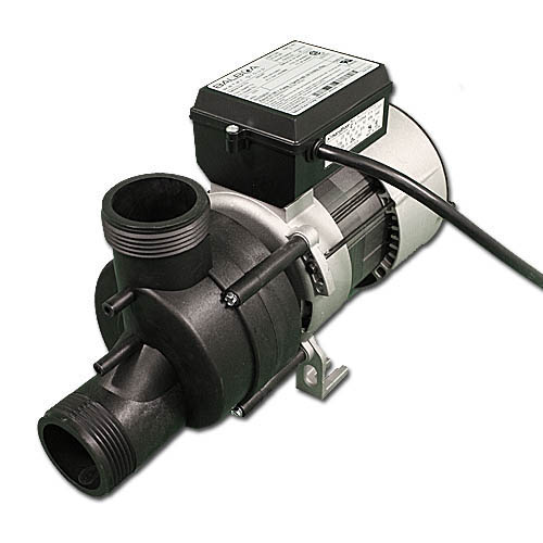 "Bath Pump, Vico Power Wow, Front/Top, 1.0HP, 115V, 9.0A, 1-1/2""MBT w/Air Switch & NEMA Cord"