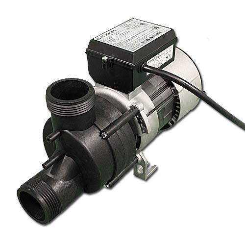 """Bath Pump, Vico Power Wow, Front/Top, 1.0HP, 115V, 9.0A, 1-1/2""""MBT w/Air Switch & NEMA Cord"""
