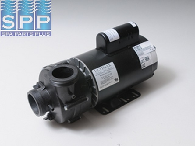 "Pump, Vico Ultimax, 3.0HP, 230V, 12.0/3.5A, 2-Speed, 2""MBT, SD, 56-Frame"