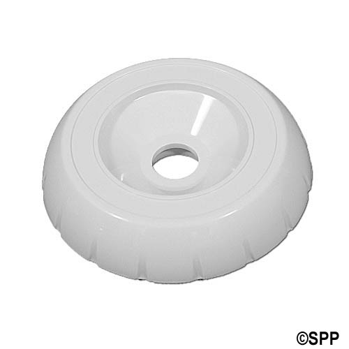 "Cover, Diverter Valve, HydroAir, 2"" HydroFlow, 3-Way, Notched, White"