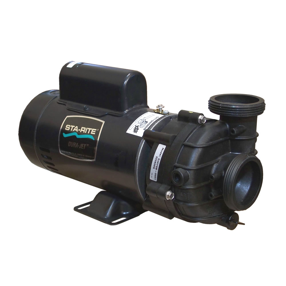 "Pump, Sta-Rite Dura-Jet, 2.0HP, 230V, 8.5/3.0A, 2-Speed, 2""MBT, SD, 48-Frame"