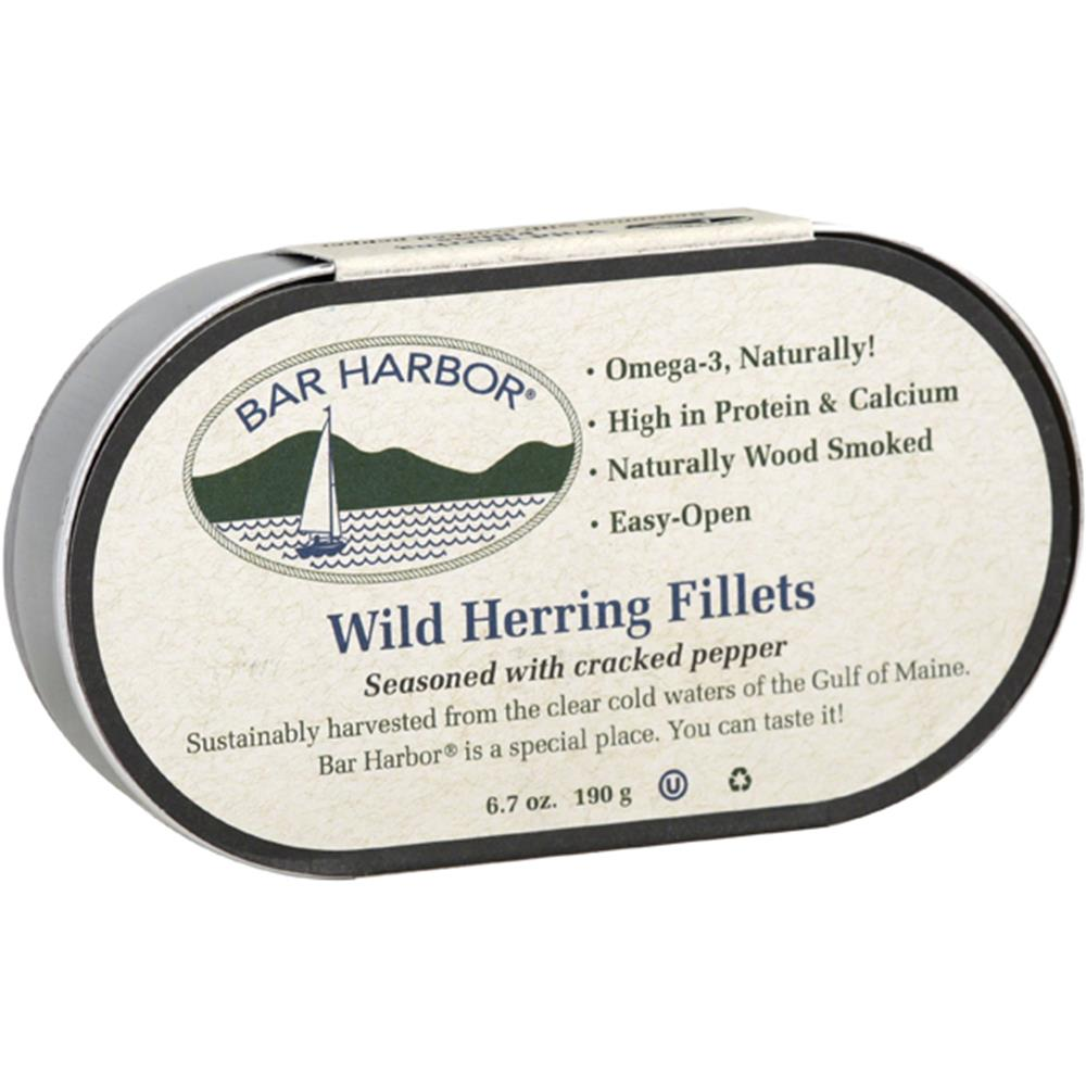 Bar Harbor - Cracked Pepper Smoked Kippers ( 12 - 6.7 OZ)