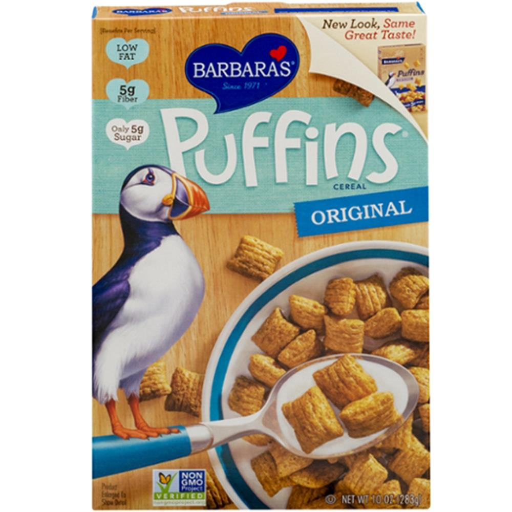 Barbara's Bakery - Original Puffins Cereal ( 12 - 10 OZ)
