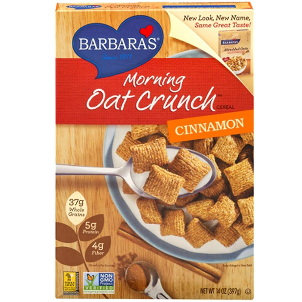 Barbara's Bakery - Cinnamon Morning Oat Crunch Cereal ( 6 - 14 OZ)