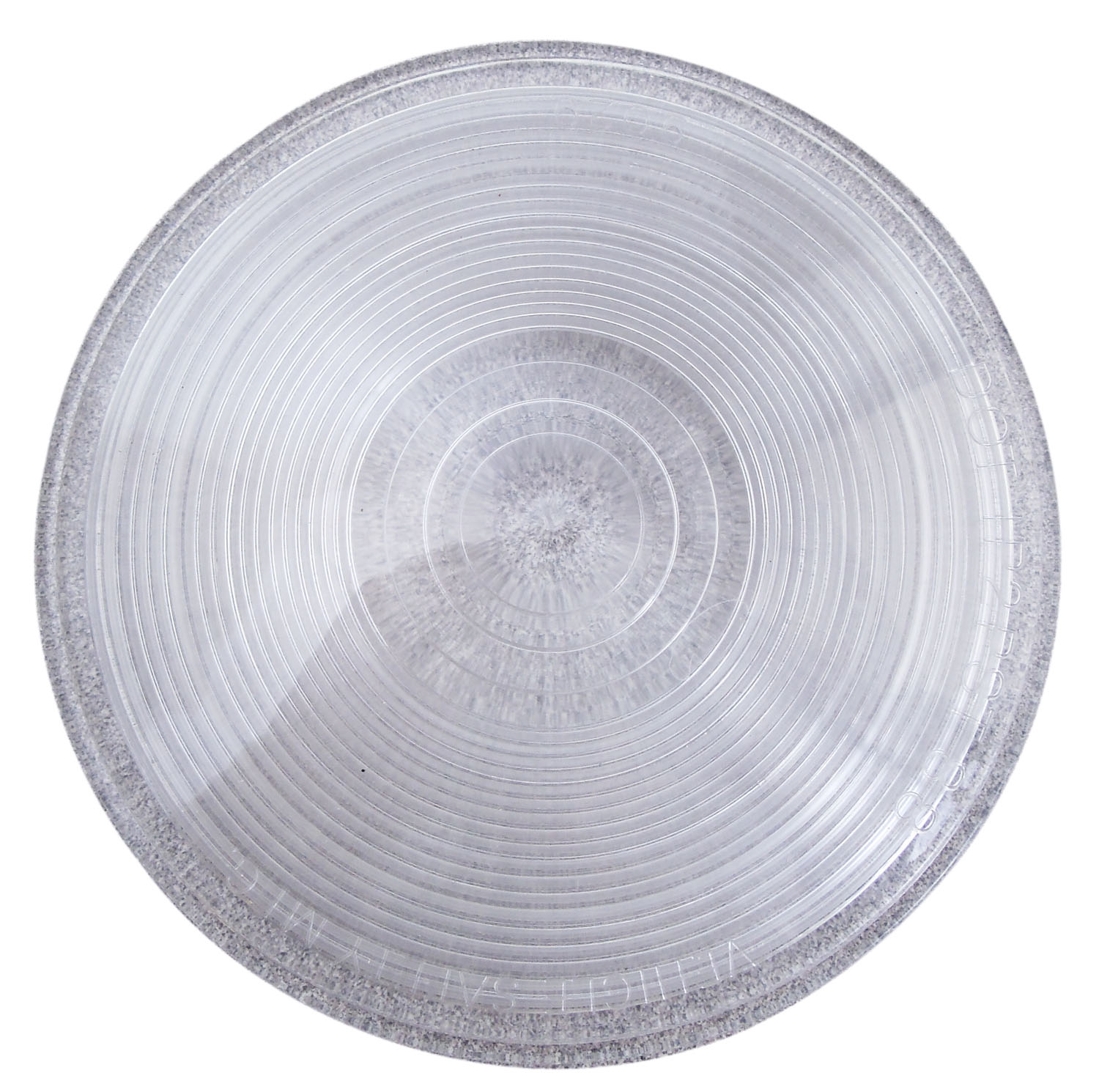 """4-1/4"""" ROUND CLEAR REPLACEMENT LENS COVER 9029 DOT IP2PST88 - BULK"""