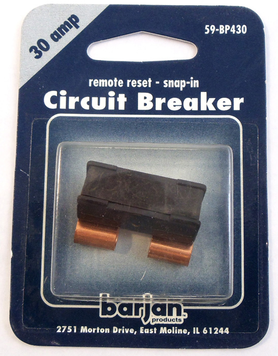 30 AMP BLADE TYPE CIRCUT BREAKER