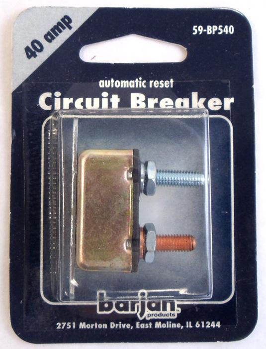 40 AMP BLADE TYPE CIRCUT BREAKER