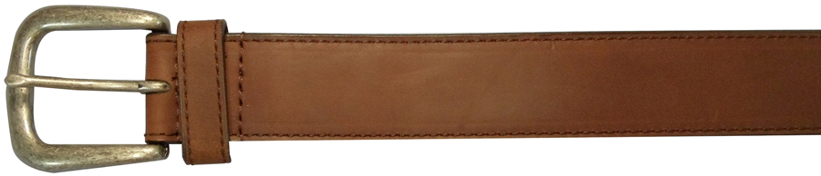 36 INCH BROWN BELT, PLAIN